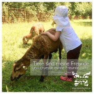 Tiere sind meine Freunde, und ich esse meine Freunde nicht. (George Bernard Shaw)
