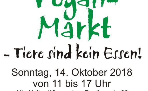 Winnvegan Markt 2018 Flyer