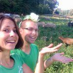 Corinna und Matthias Budig schaffen auf ihrem Gnadenhof in Schwaigern Begegnungen zwischen Mensch und Tier für Herz und Seele