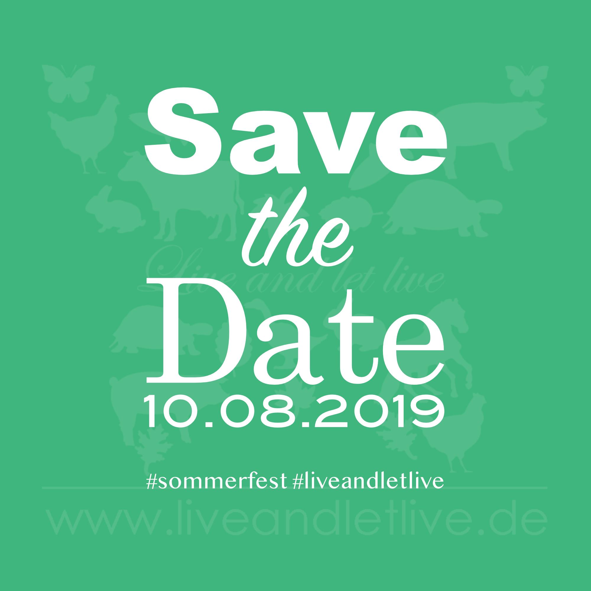 Live and let live Sommerfest für den Guten Zweck