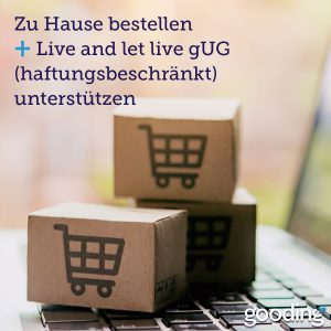 Onlineshopping Live and let live